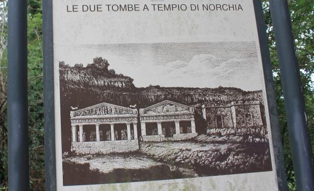 Le Tombe a Tempio_Norchia